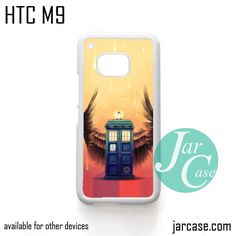 Doctor Who Police Box With Wings Phone Case for HTC One M9 case and other HTC Devices