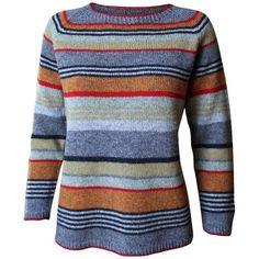 Gavstrik er strikke i A-facon og giver dermed en god pasform. Strikket i tynd uld på pind nr. 3. Den tynde uld er dejligt at have på hele året. Rigtig god fornø