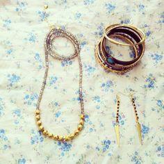 #handmade #jewelry #アクセサリー #earrings #バングル #ブレスレット #joujou #necklace - @kiccart- #webstagram