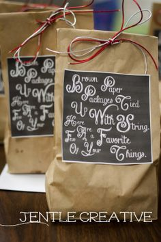 Holiday Gift bags and gifts for neighbors or coworkers. #gifts #coworkers #mykindofholiday