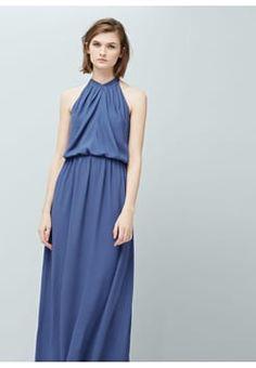 Mango - CAMILLA - Cocktailkleid / festliches Kleid - blue