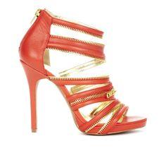 Sole Society Tangerine - Open toe sandals - Makenna
