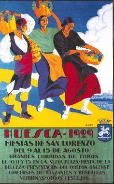 Fiestas de San Lorenzo, año 1929