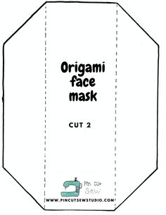 Make a Better Mask! Free pattern, tutorial and a link to the BEST elastic. — Pin, Cut, Sew Sewing Hacks, Sewing Tutorials, Sewing Projects, Sewing Ideas, Quilting Tutorials, Quilting Ideas, Easy Face Masks, Diy Face Mask, Mask Template