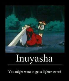 ah jeez, Inuyasha. Inuyasha Memes, Inuyasha Funny, Inuyasha Fan Art, Inuyasha And Sesshomaru, Kagome And Inuyasha, Anime Shows, Anime Manga, Fangirl, Nerd