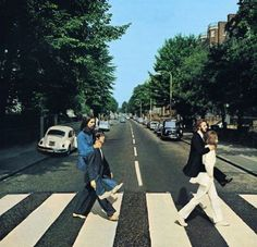 A different take on the Abbey Road album cover