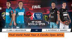 Campeones World Pádel Tour A CORUÑA [Ver la FINAL Completa]