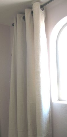 Drop Cloth Curtains - grommets at Lowe's