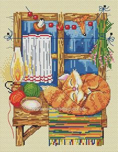 Shop online for The Cat Cross Stitch Kit at sewandso.co.uk. Browse our great range of cross stitch and needlecraft products, in stock, with great prices and fast delivery.