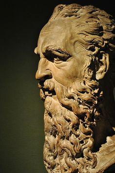 Ashmolean man with beard