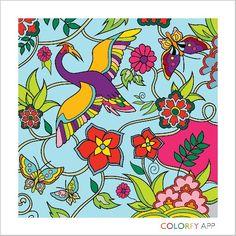 colourful batik by colorfy