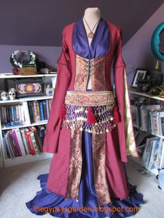 ghawazee coat | These are only two of the variations I have come up with. This one ...