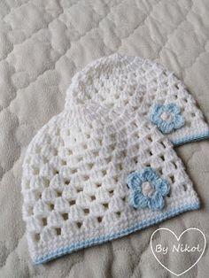 Crochet Hats, Knitting, Knit Patterns, Plushies, Caps Hats, Dots, Bebe, Knitting Hats, Tricot