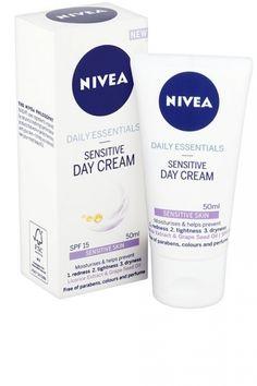Nivea Day Essentials Sensitive Day Cream, £4.49
