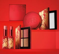 Celebrate with the limited-edition of nar's lunar collection inspired by beauty and good fortune. The collection includes A pressed setting powder,Singapore quad eyeshadow palette and 2 shades of the Afterglow lip balm. Beauty Sale, Luxury Beauty, Latest Makeup, Lunar New, Sunflower Tattoo Design, New Hair Colors, Lip Tint, Setting Powder, Makeup Products