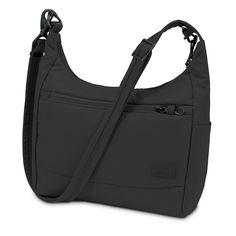 pacsafe Citysafe CS100 Anti-Diebstahl Reisehandtasche Black