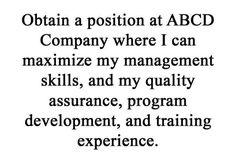 Resume Career Objective Statements 50 Resume Objective Statements  Resume  Pinterest  Resume .