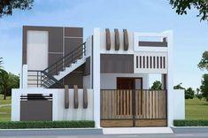 House Main Gates Design, Single Floor House Design, 2 Storey House Design, House Outside Design, Duplex House Design, House Front Design, Small House Design, Building Front, Building Layout