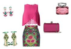 """""""glamour..☆"""" by grazialazzaro ❤ liked on Polyvore featuring Dolce&Gabbana, Gucci, Roberto Cavalli and Miss Selfridge"""