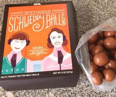 Make the holiday season a memorable one by sharing a sack of Pete's famous Scheddy Balls with your loved ones. These mouth-watering balls feature a delightful sweet and salty flavor that thrill the taste buds like only Schweddy balls can.