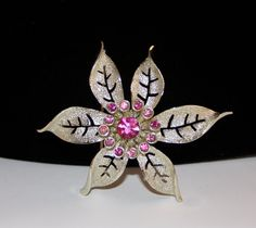 Fashion Flower 6721 Sarah Coventry by AllAboutSarah on Etsy