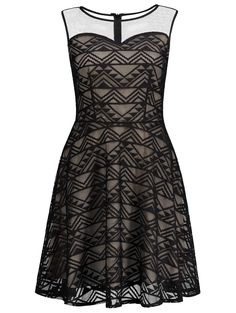 SHARE & Get it FREE | Sheer Mesh Panel Sleeveless Lace Skater DressFor Fashion Lovers only:80,000+ Items • New Arrivals Daily • Affordable Casual to Chic for Every Occasion Join Sammydress: Get YOUR $50 NOW!