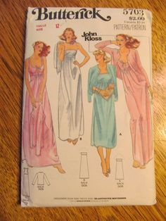 1970s John Kloss DESIGNER Gown and Cardigan by PlatypusDream, $5.00