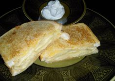 Pierogi Grilled Cheese Recipe -  Very Tasty Food. Let's make it!