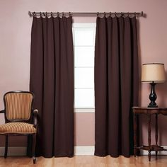 Drapes & Curtains - Best Home Fashion - Thermal Insulated Blackout Curtains – Oxeme Home