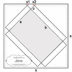 Janas Bastelwelt: Die ultimative Formel für das. Umschlag Punchboard - Schachteln / Boxen