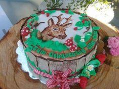Torte für einen Jäger von Doris Illmaier — QimiQ Camo Cakes, Adult Birthday Cakes, Congratulations, Sweets, Desserts, Baby Showers, Birthday Cakes For Adults, Birthday Cake Toppers, Raspberries
