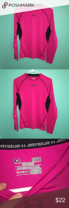Boy's Under Armour Heat Gear Shirt Never worn. Perfect for winter or working out in general. Under Armour Shirts & Tops