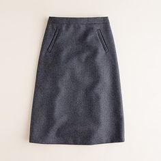 Sterling skirt in double-serge wool.. love the lines.