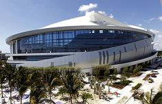New Miami Marlins Stadium...Right smack in the middle of Little Havana.  Play ball!