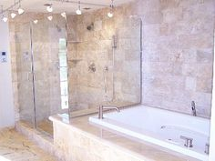 I like this idea of tub and shower but  would prefer that the shower be wheelchair accessible