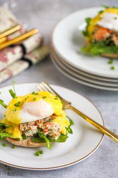 Crab Eggs Benedict More