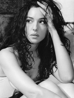 monica bellucci is unearthly. to be italian!
