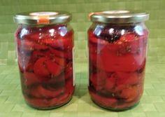 Πιπεριές Φλωρίνης ψητές σε βάζο Αντώνης συνταγή από antonismavro - Cookpad Mason Jars, Mason Jar, Glass Jars, Jars