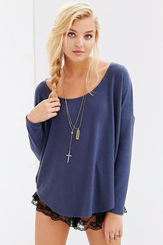Project Social T Oh So Cozy Tunic Top