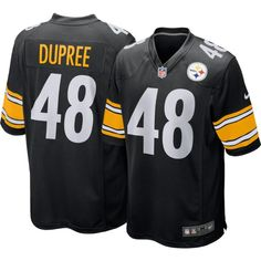 Nike Youth Home Game Jersey Pittsburgh Bud Dupree #48, Kids Unisex, Size: Large, Team