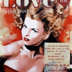 The Ruby Lips from James Patterson available now from Evergreen Art Cafe talk to us today about our Free Delivery and Finance Options on 01327 878117 Art Cafe, James Patterson, Evergreen, Lady In Red, Blue Eyes, Love Story, Piercing, Fiction, Novels