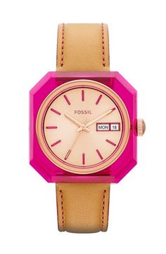 such a cute watch from fossil