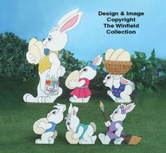 Easter Parades #1 & #2 Pattern Set