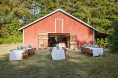 Outdoor Country Barn Wedding - Rustic Wedding Chic