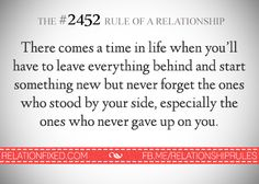 The #2452 Rule of a Relationship