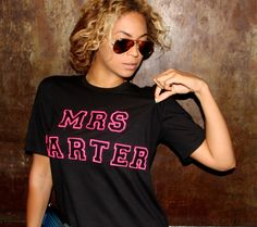 Mrs. Carter I actually dig this pic