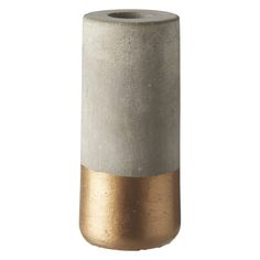 Lysestage kobber bund H12