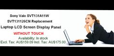 Laptop Repair, Display Panel, Sony, Touch