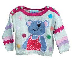 Wiquaオリジナルデザインの子供編込みセーター・キットです。前・後身頃にかわいい編込みの「おTEDちゃん」が来ます。サイズは、6ヵ月・9カ月・1才用 の3サ...|ハンドメイド、手作り、手仕事品の通販・販売・購入ならCreema。