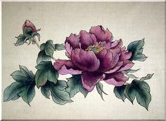 пионы китайская живопись - Поиск в Google